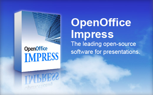 OpenOffice Impress is a free open-source office suite.